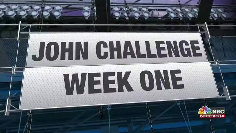 Week One of the John Sunday Night NFL Challenge featuring LA Rams versus Chicago.