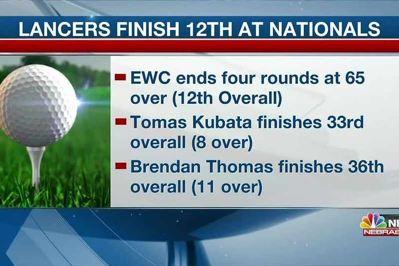 Lancers finish 12th at NJCAA National Men's Golf Championships in Texas.
