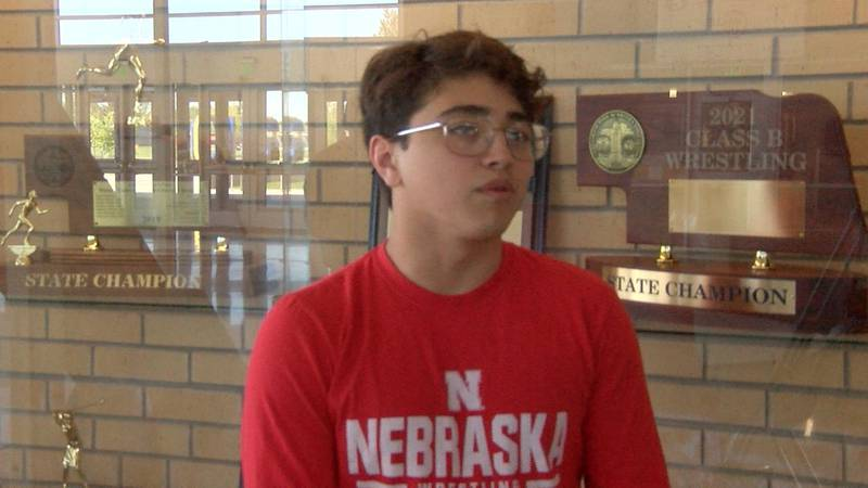 Quinton Chavez leaves Gering as the school's all time leader in wrestling wins.  He will take...