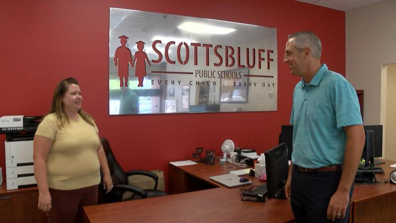 Andrew Dick begins his journey as the new school superintendent of Scottsbluff.