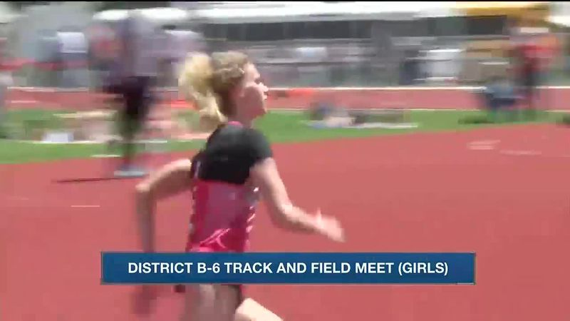 Several local athletes punch tickets into state track and field meet.