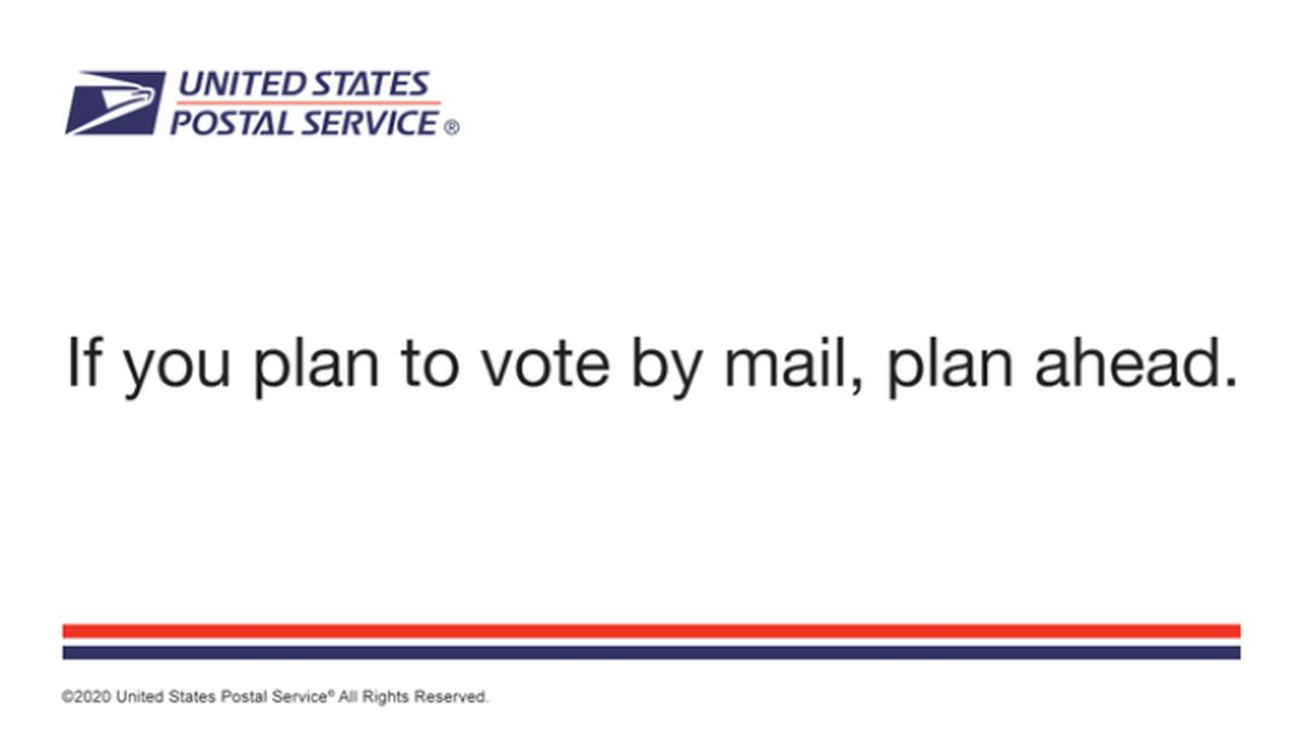 The mailing comes in the aftermath of questions about whether the agency was up to the task and questions from the White House about the validity of mail-in and absentee voting systems in various states.