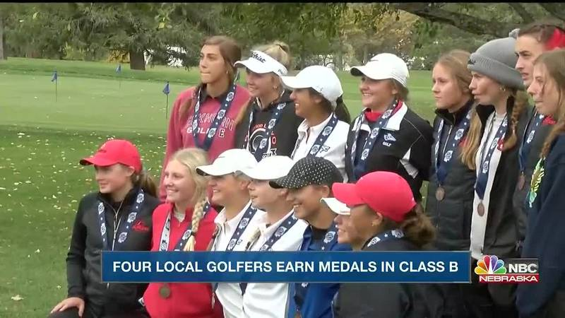 Scottsbluff earns state runner up honors.  Four local golfers earn state medals for the event.