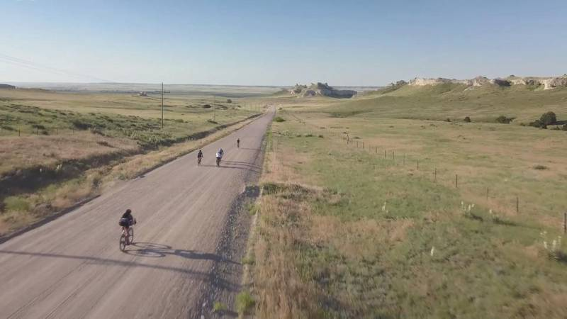 A little over 500 cyclists take part in Robidoux Quick and Dirty event.